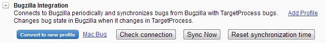 Bugzilla profile converter