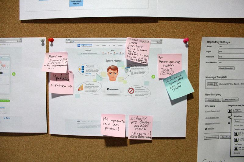 Development Practice: Design Ideas Board - Targetprocess - Visual ...