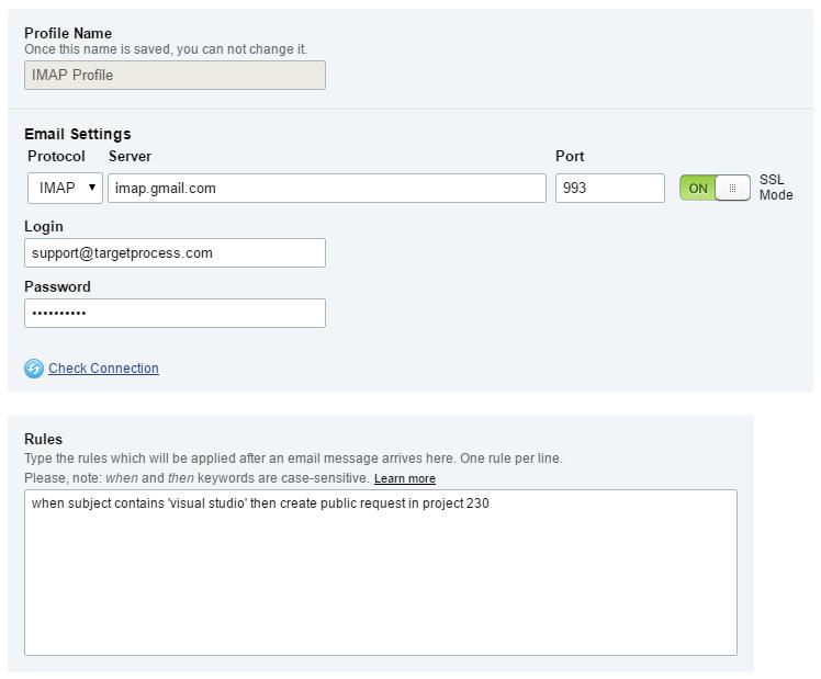 How to set up Inbound Email Integration. Image 2