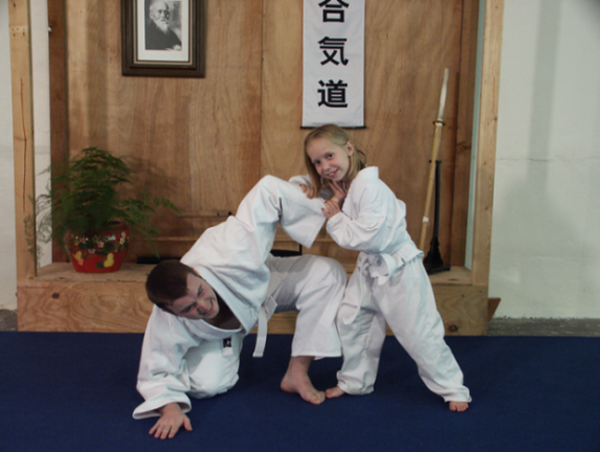the aikido girl