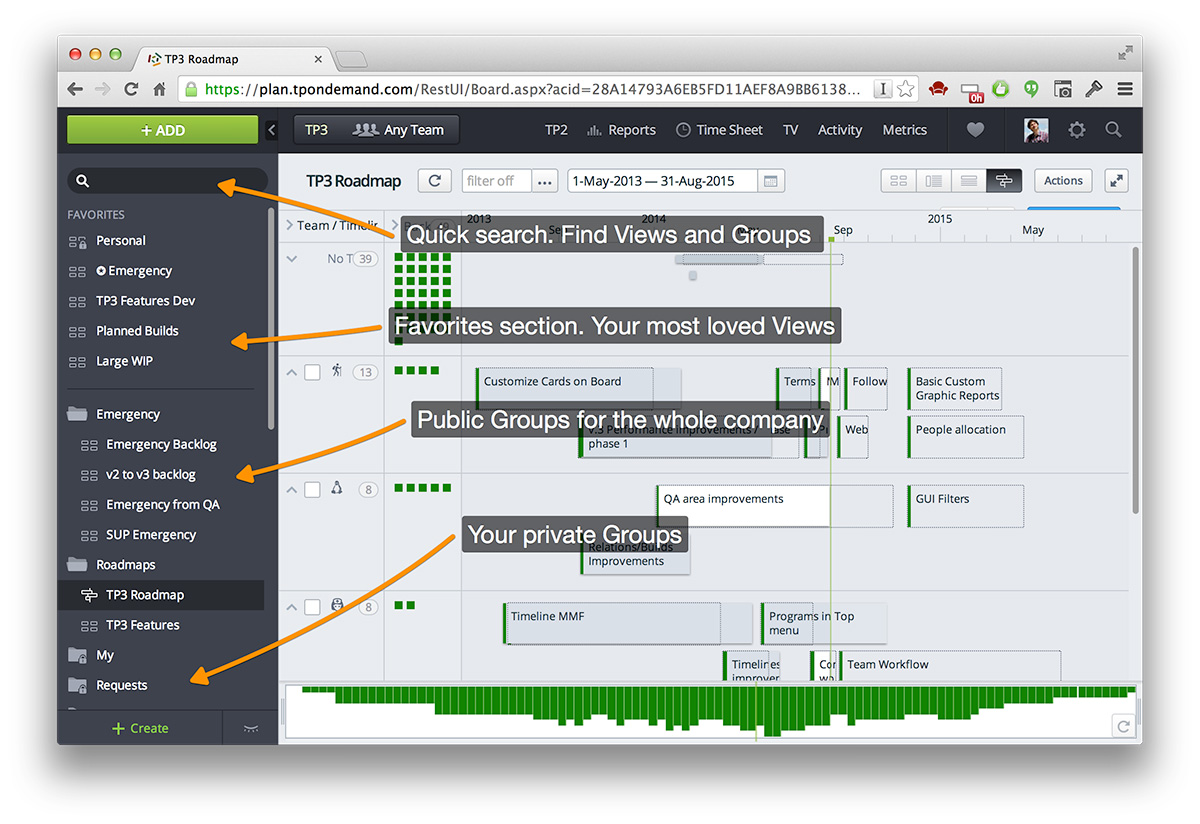 The Views and Tools Overview. Image 3