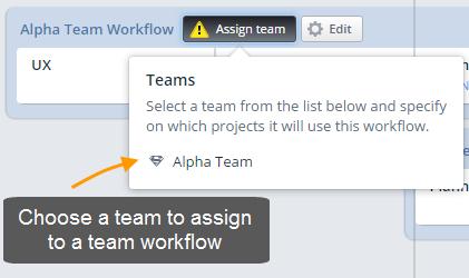 Team assign