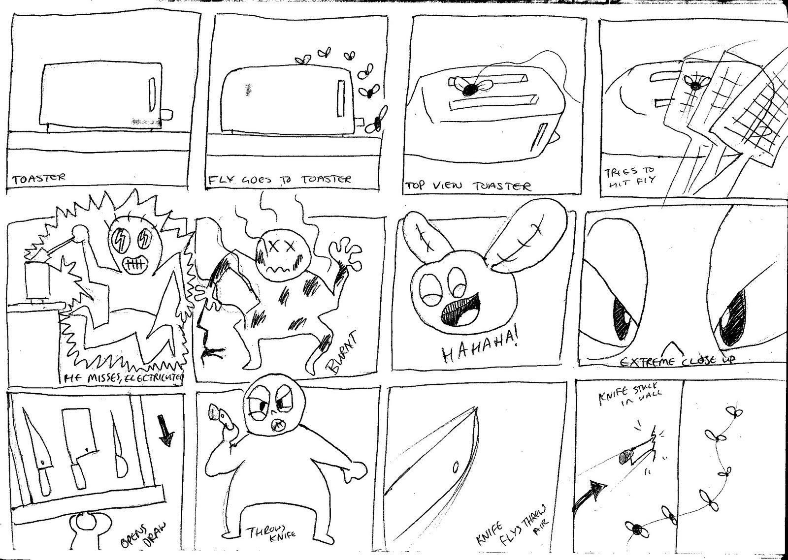 A Motion Graphic Storyboard