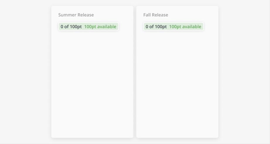 Empty Releases
